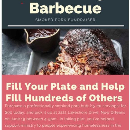 Blessed by BBQ - Vieux Carre Fund Raiser