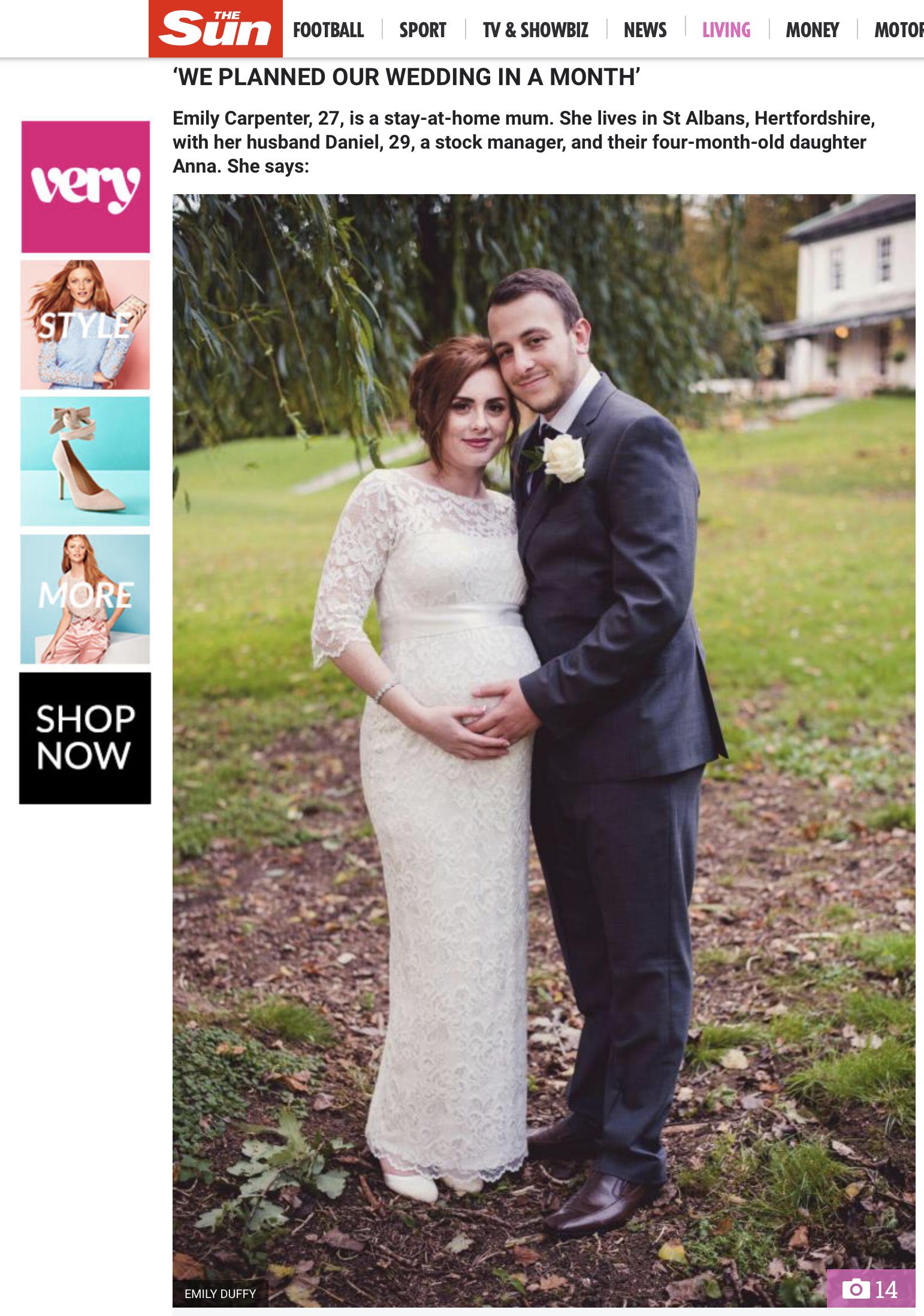 Published!   Wedding Photography   UK   FJS Photography