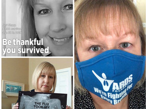 """""""STRUCK BY LIGHTNING TWICE?"""" 2016 ARDS SURVIVOR CONTRACTS AND SURVIVES COVID-19, 4 YEARS LATER..."""