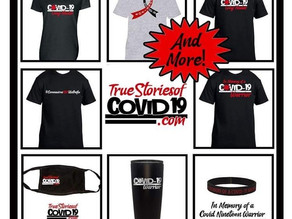 HAPPY HOLIDAYS FROM TRUE STORIES OF COVID-19! FREE SHIPPING THROUGH CHRISTMAS DAY (U.S. ORDERS ONLY)