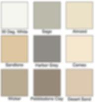 Seamless Gutter Colors | The Gutter Guard Experts