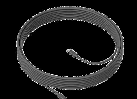Cable 10m para micrófono deLogitech MeetUp