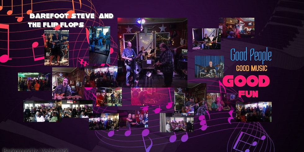 Barefoot Steve & The Flip Flops @ Daddio's Pub