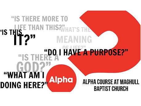 Alpha Course Maghull Baptist Church Liverpool