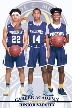 New 1JV Boys Basketball Poster