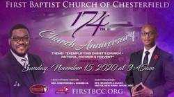 174 Church Anniversary w Pastor Chris  c