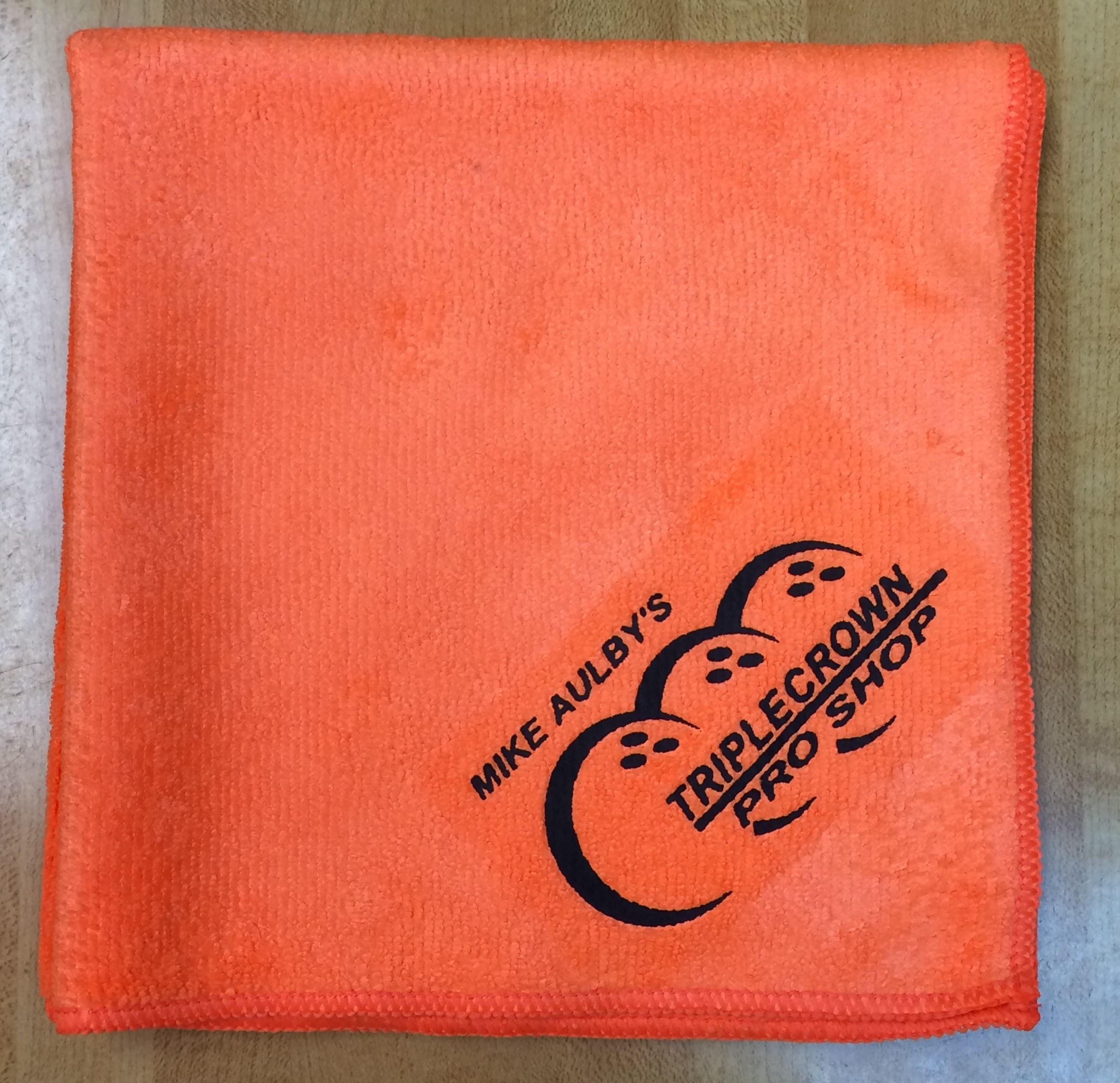 Orange Triple Crown Microfiber
