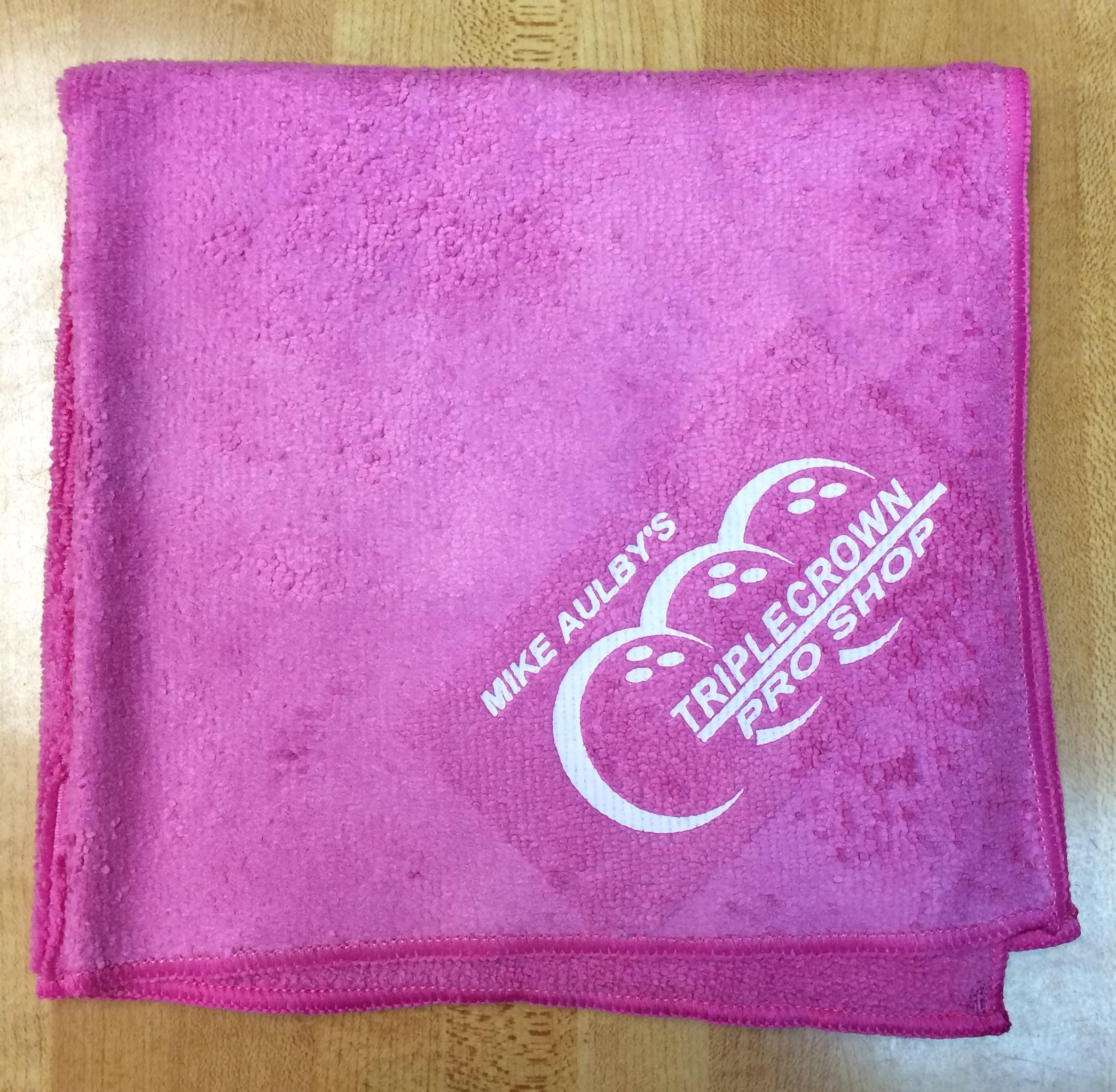 Pink Triple Crown Microfiber