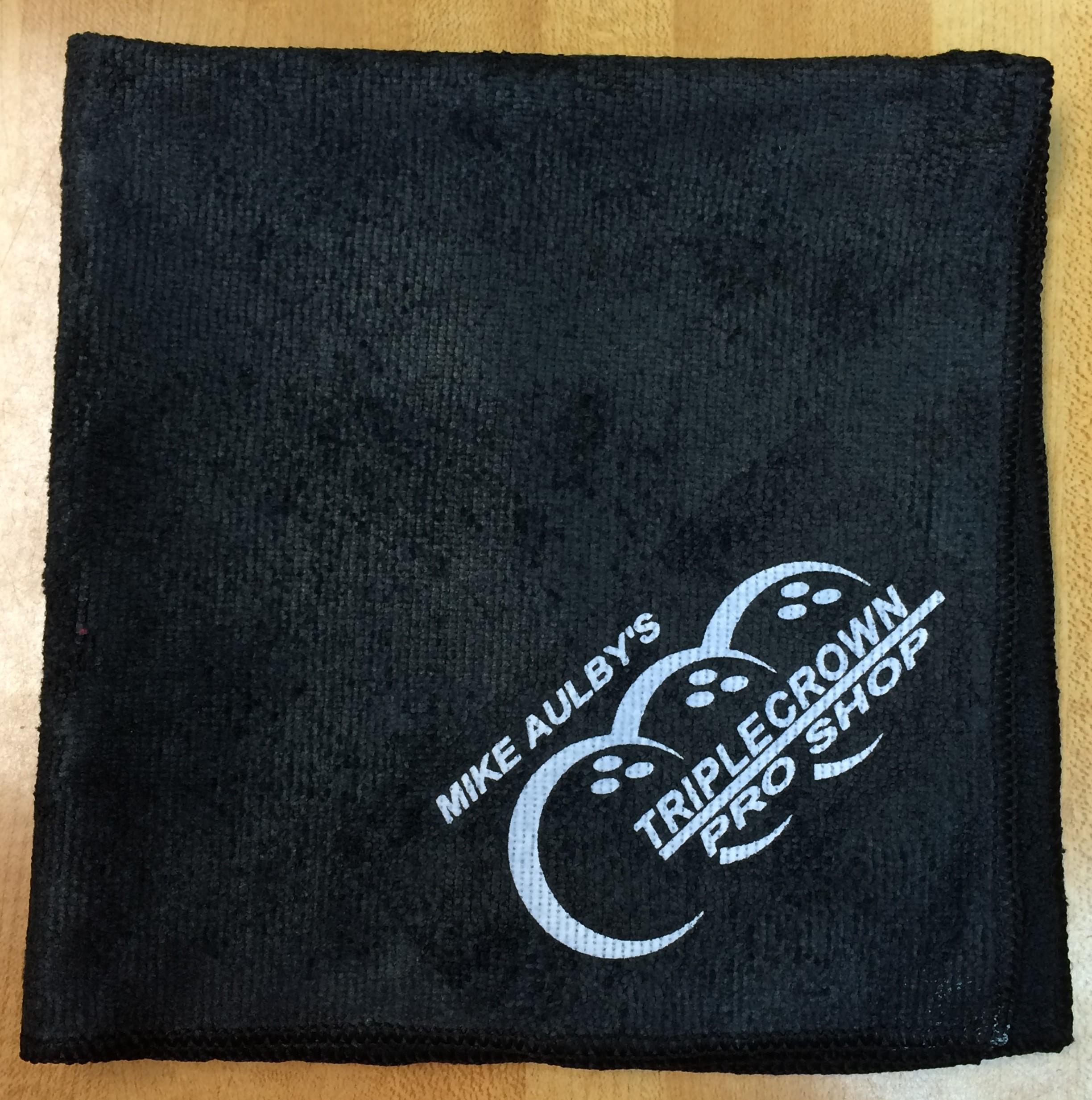 Black Triple Crown Microfiber