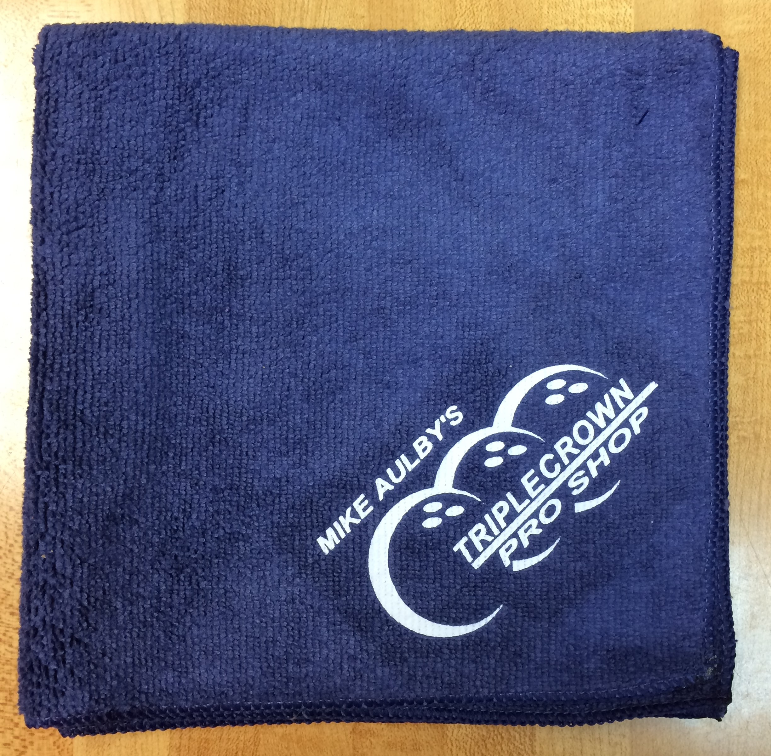Blue Triple Crown Microfiber