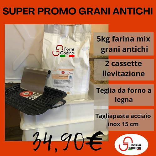 """Offerta""""Grani Antichi""""_Test Pack PREZZO SPECIALE"""