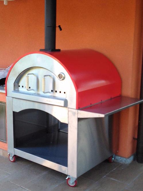 Forno a legna tradizionale Mod. Napoli 4P SOLO COLORE NERO