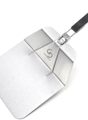Foldable stainless steel pizza peel
