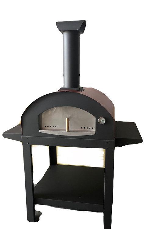 Forno Ibrido legna gas Mod. Vita Max *bruciatori non inclusi*