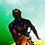 Thumbnail: SurF ( Orange ) Rash Guard Short Sleeve Adult