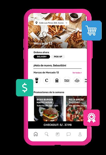 Bederr Marketplace - Múltiples marcas en una sola app de pedidos y fidelización
