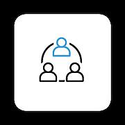 Iconos de herramientas - Marketing de referidos