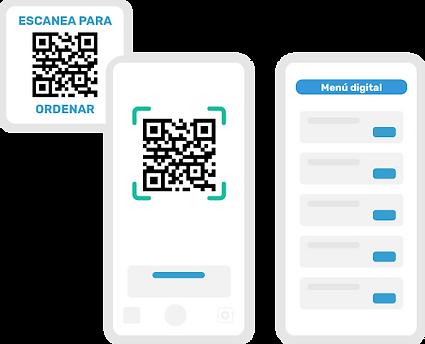 Crea tu menú digital escaneable por código QR