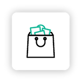 Icono de pedidos online