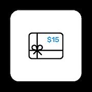 Iconos de herramientas - Gift cards