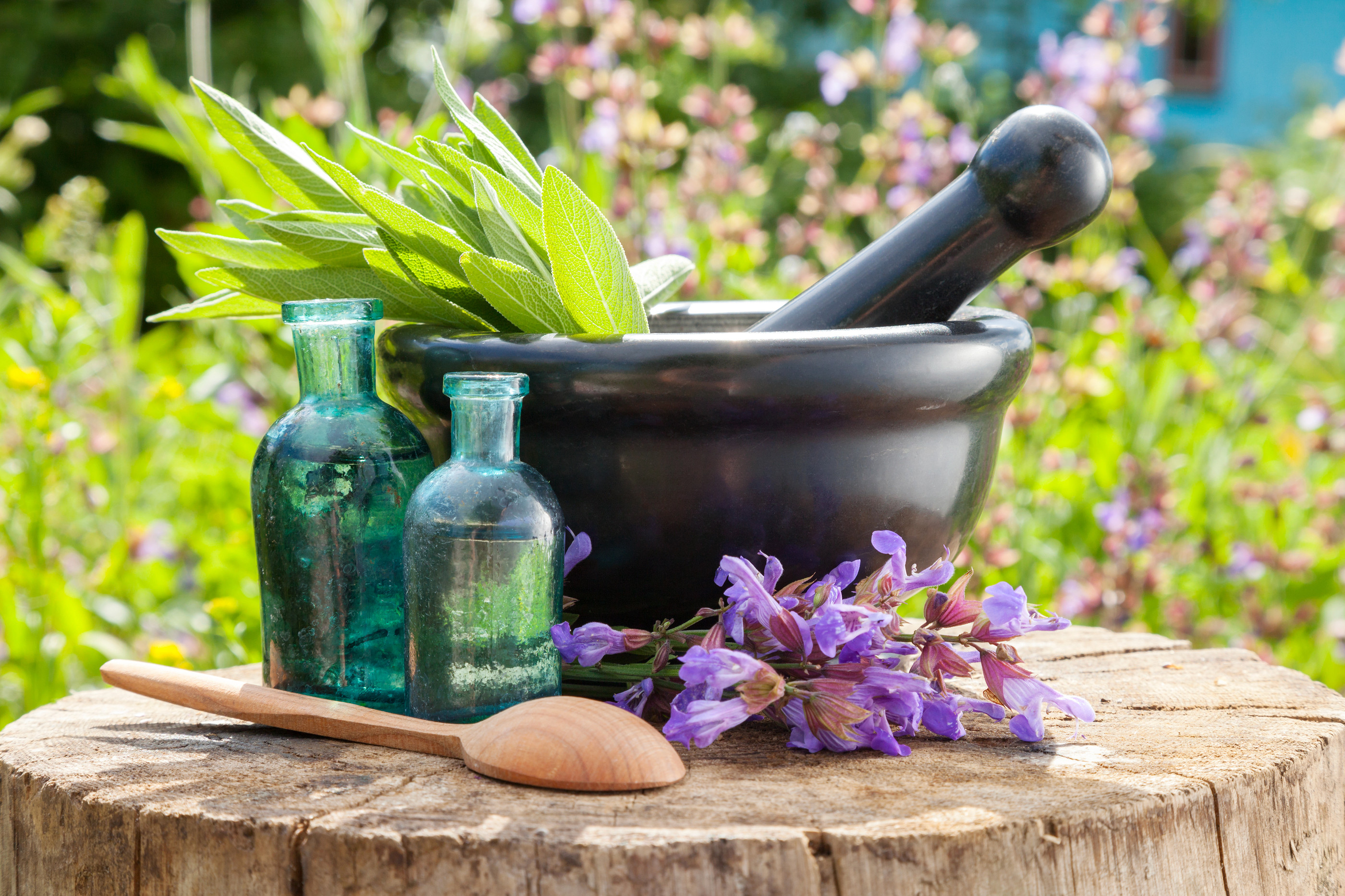 Herbal Medicine & Oils