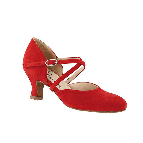 Madonna (red suede leather)