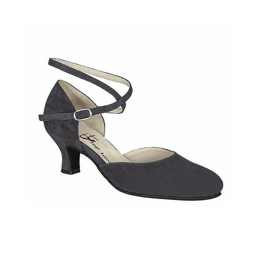 Madonna | Gray Suede Leather