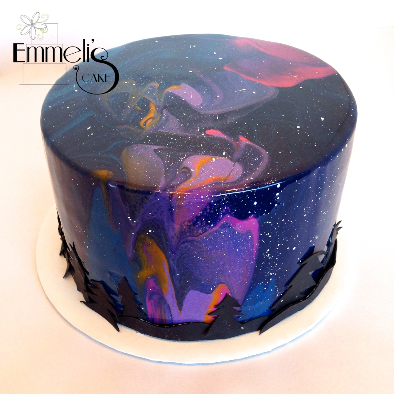 Galaxy Mirror Glaze