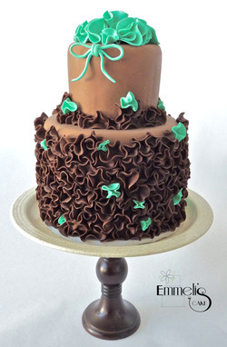 Dark Chocolate Ruffles
