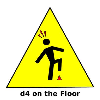 d4 on the Floor logo