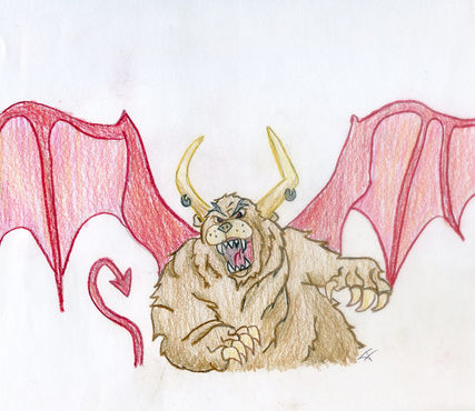 A beastly thing by Brian.