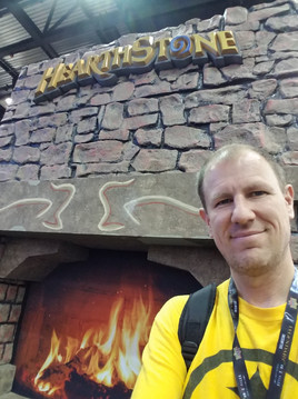 Mark by the Hearth.  Gen Con 2018.