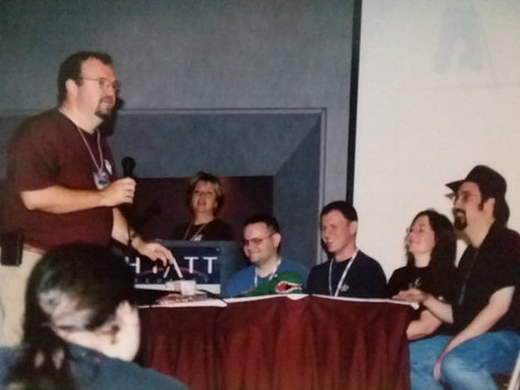 Killer Breakfast 2002.  Look at those two in the middle.  They don't know what they got themselves into.