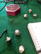 Brian's glorious dice.