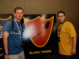 Mark and Casey placed 2nd in a Mage Knight team tournament.
