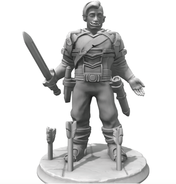 Holg Hero Forge concept.