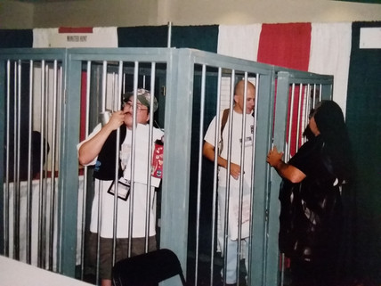 Klingon Jail.  I am not sure if they do this anymore.  I feel like I haven't seen it the last few times at Gen Con.