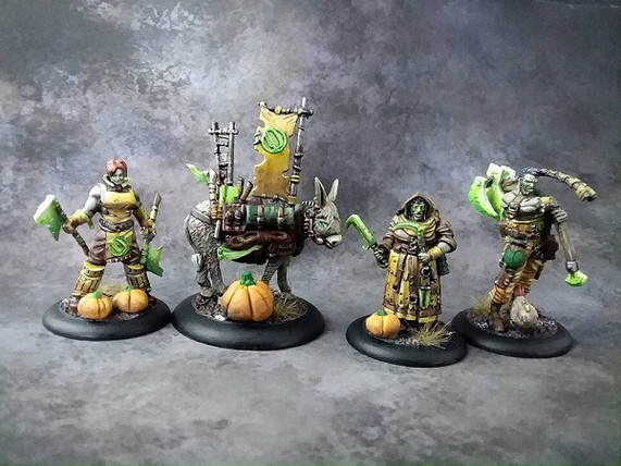 More Haunted Farmers Guild Ball Team painted by Brian.
