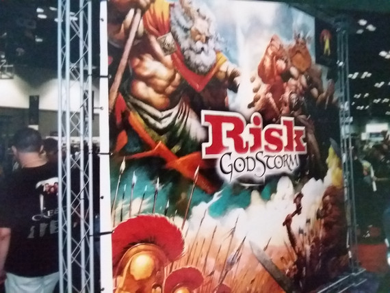 Risk!  Such a great game until you want to flip the table.