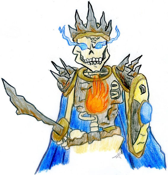 Undead Knight, by Brian.