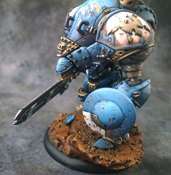 Another picture of the Stormclad Brian painted for the P3 Gen Con 2016 painting competition.