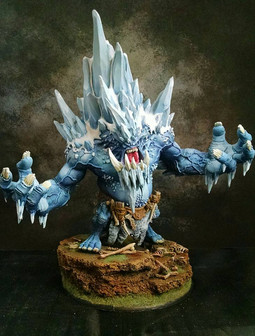 Thomas' Glacier King.  Painted by Brian.