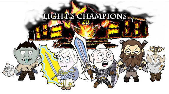The Light's Champions - Drawn up by our fan Ang!