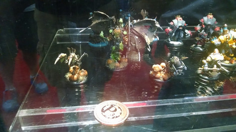 Brian's Terminus' Battlegroup in the P3 case for the P3 painting competition.