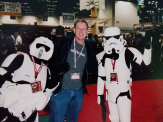 Mark and some troopers.