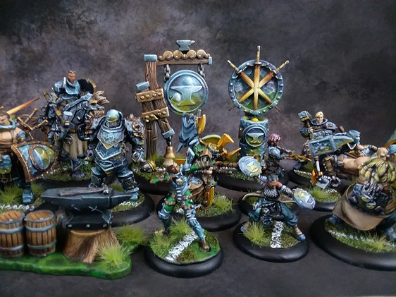 Lance's Blacksmiths Team Brian painted.
