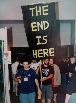 The end is here.  Just like the banner says.