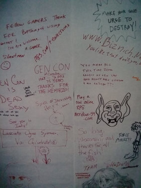 Doodle wall pic.