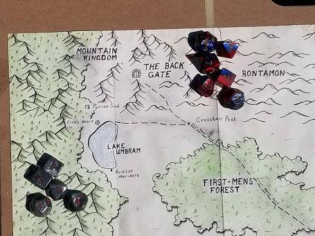 Phaernum Map Created by Jon.