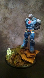 Brian painted this for an online Knight Model's Facebook Painting Competition.  Brian did not win but enjoyed painting this guy.